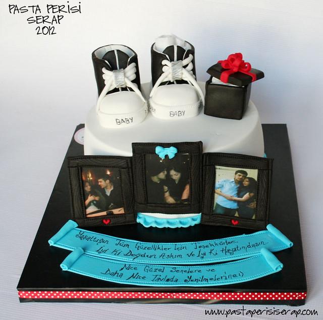 Evlilik teklifi pastası