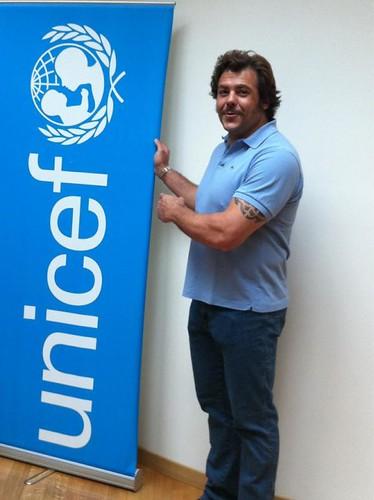 Andrea Lo Cicero ambasciatore UNICEF