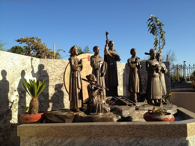 The French Missionaries and the Vietnamese Martyrs in Phoenix