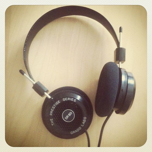 Music in the Digital Age readers, this is what you bought me. Thanks! #SR80i #gratitude