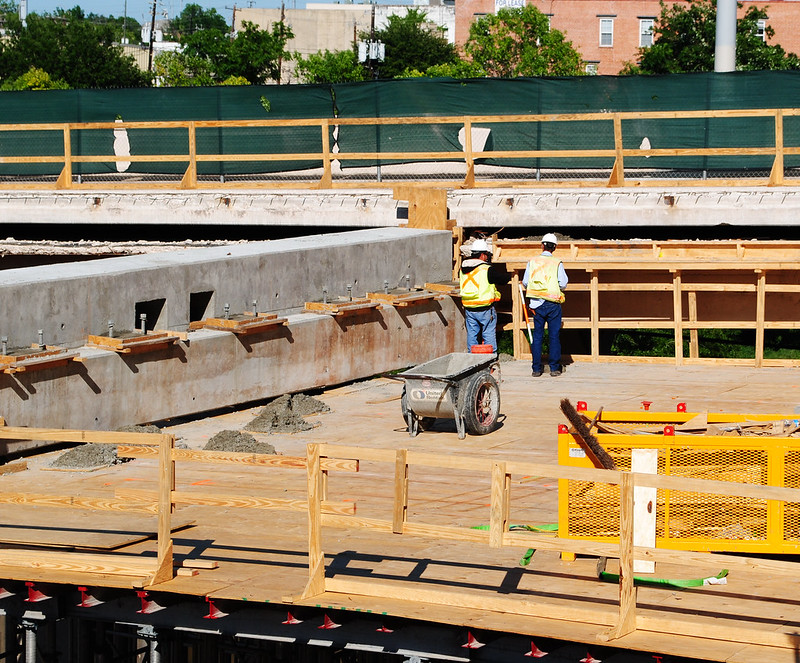 Bridge Replacement, Main Street over White Oak Bayou, Houston, Texas 1204211703