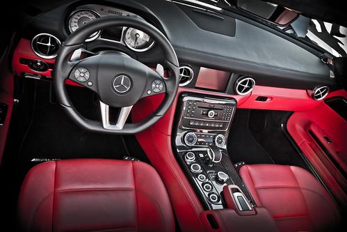 Mercedes SLS Interior