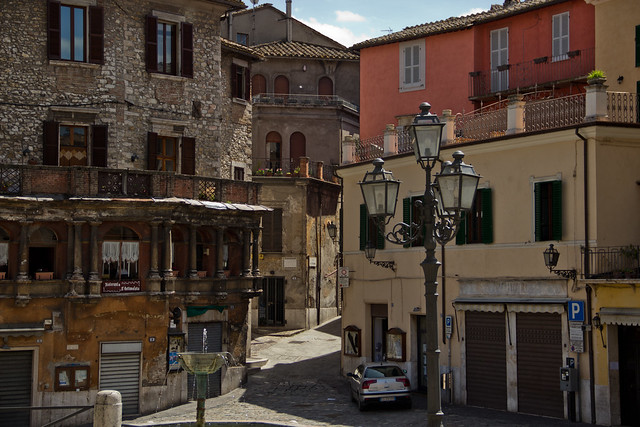 The City of Narni, Umbria, Italy