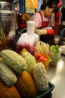 Raohe Night Market 苦瓜汁