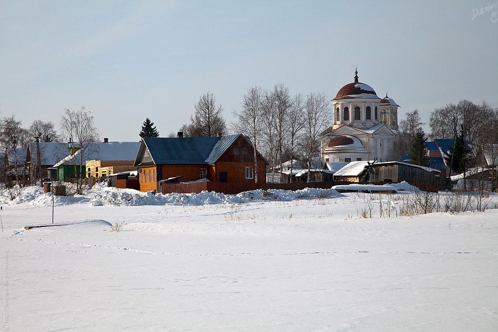 Церковь соловецких святых Зосимы и Савватия