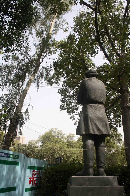City Landmark - Tolstoy's Statue, Connaught Place