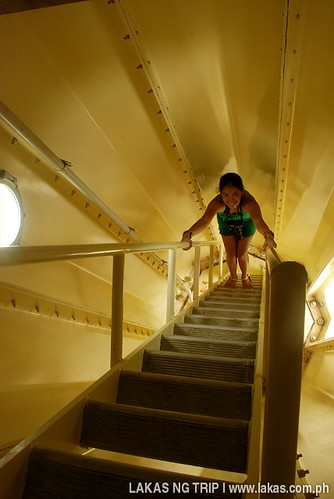 Inside Apunan Point Lighthouse in Romblon Island, Romblon