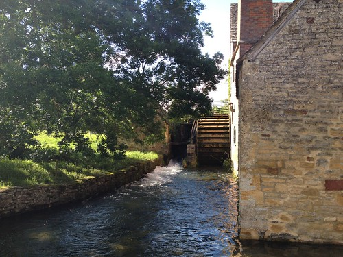 Molino de agua en Lower Slaughter