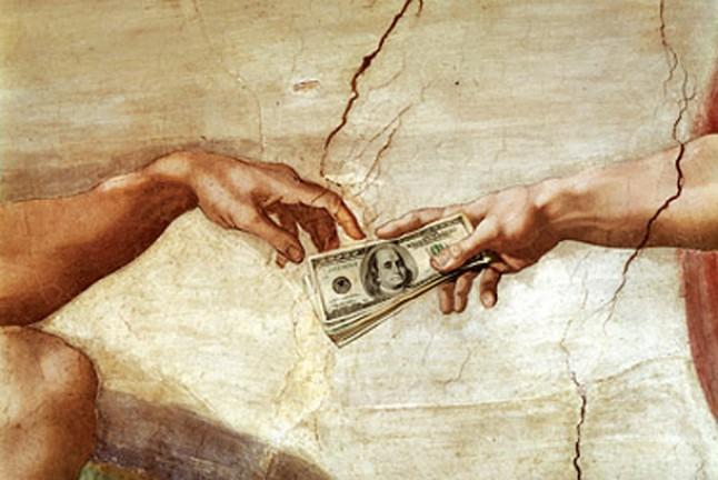 В Ватикан — только с наличными