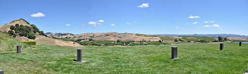 Panorama View of Artesa ~ Napa, CA