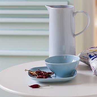 plato y bowl azul ikea