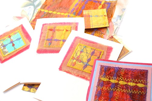 Sewing project ideas - block printing, fabric & crafts