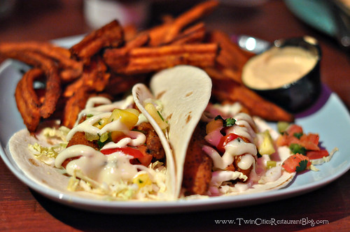 Fish Tacos at Kokomos Island Cafe ~ Bloomington, MN