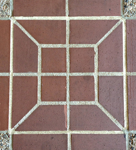 Sidewalk Tiles, Mitchell Earth Sciences