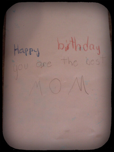 My Birthday Card from Troy