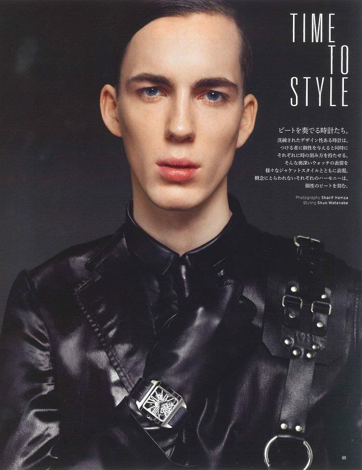 Milo Spijkers0027_VOGUE HOMMES JAPAN SS12(LOOP Management facebook)