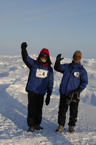 North Pole Marathon 2007