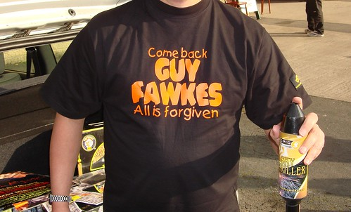 "Come Back Guy Fawkes T-Shirt. ""Come Back Guy Fawkes, All Is Forgiven"""