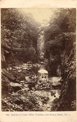 888. Bettws-y-Coed - Ffos Noddyn (The Fairy Glen), No. 1. by Francis Bedford (c.1860)