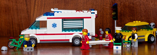 LEGO Bicycle & Ambulance