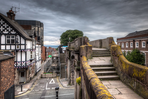 North Gate And City Wall 2012 by Mark Carline