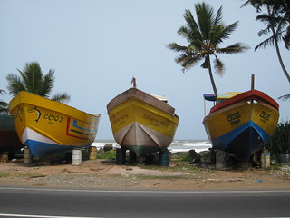 Fishing craft on the Galle road | by shankar s.