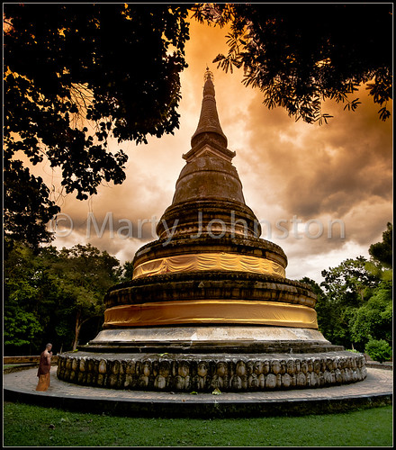 landscape asian thailand religious temple evening worship asia buddha buddhist prayer religion buddhism monks thai chiangmai wat prayers lanna darksky chaingmai eventide watumong 5photosaday earthasia totallythailand