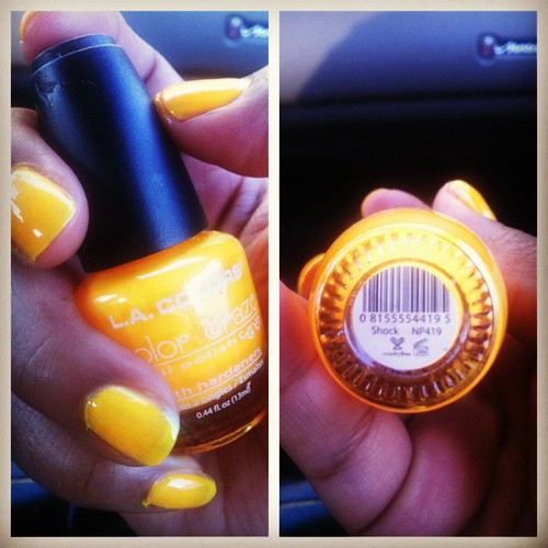 Shock LA Colors nail polish