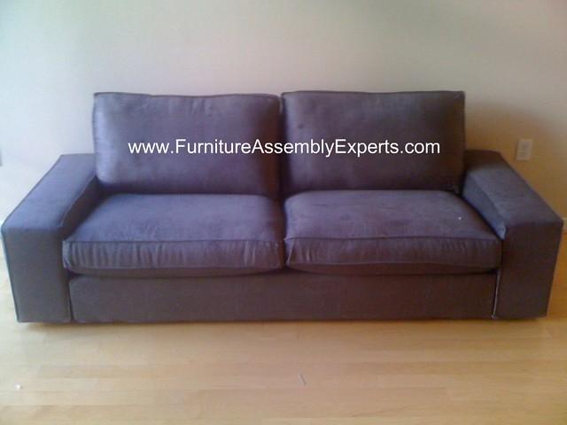 Ikea kivik sofa assembly in arlington va flickr photo for Ikea arlington va