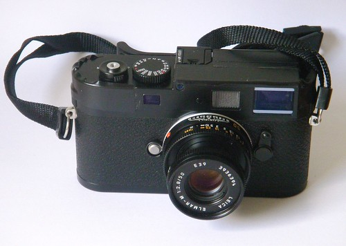 Leica M9 with Elmar lens by Elmar Eye