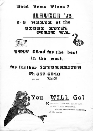 SwanCon 4 advertising poster (1 of 1)