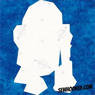 R2D2 silhouette