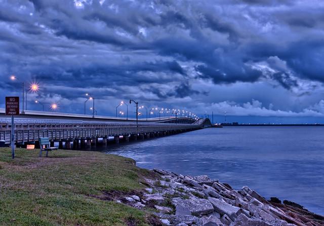 Storm Clouds Over Gandy Bridge