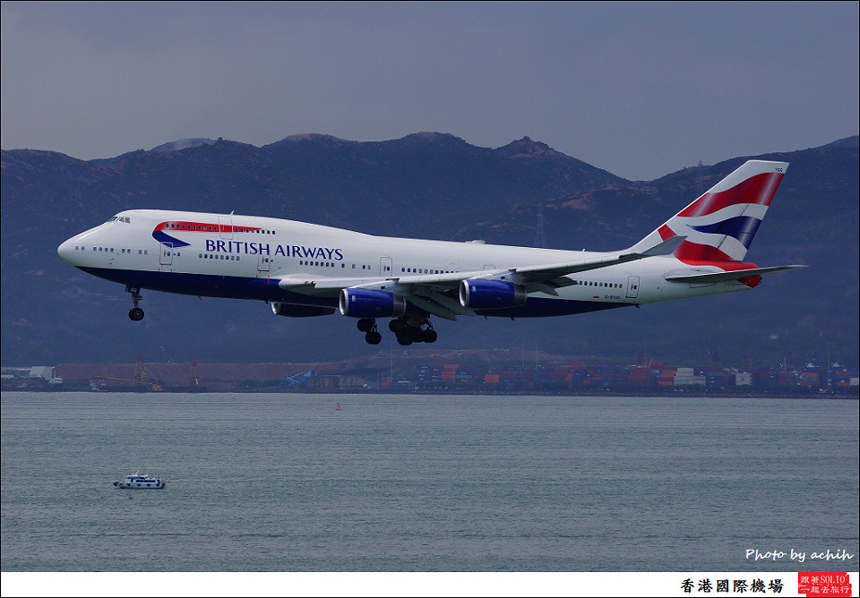 British Airways / G-BYGG / Hong Kong International Airport