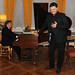 Tony Pappano and Aleksandrs Antonenko perform at the Verdi Syndicate launch © ROH 2012