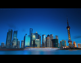 上海之蓝  /  the blue of Shanghai