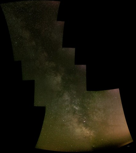 Summer Milky Way, 7 frame mosaic