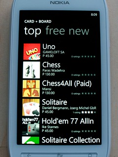 Windows Phone Marketplace Top Games