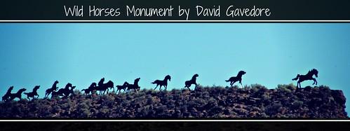 horses art steel running ponies i90 sunrays5