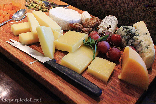 Cheeses, Dried Fruits and Nuts