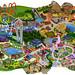 Mapa Parque Warner 2012 by alejandro.dealba