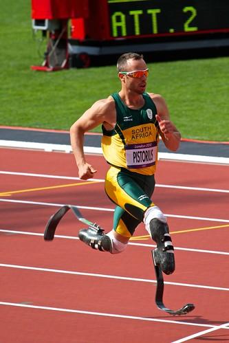 Blade Runner London 2012 400m 1st round
