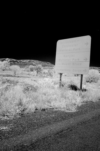 Sign Post in Wittenoom