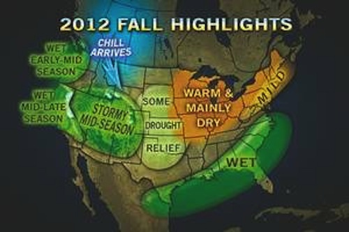 Accu-Weather Fall Forecast