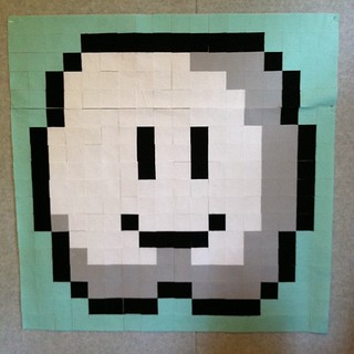 Super Mario bros cloud block