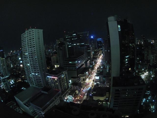 View from 22th floor room - Hotel Grand Millennium Sukhumvit (Bangkok, Thailand)