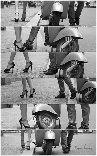 Flirting by Bryan Hoang