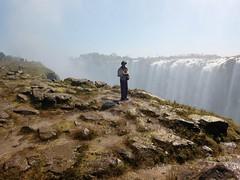 David at Victoria Falls