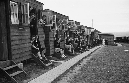 Urdd Camp at Llangrannog, August 1940