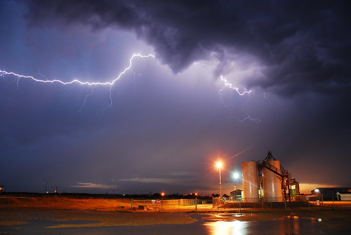 summer storm night alberta lightning